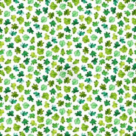 Green seamless pattern.