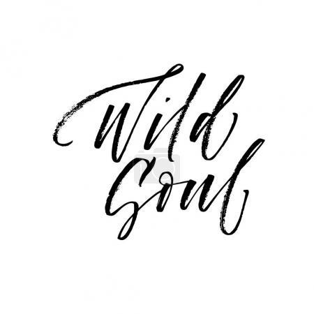 Wild soul postcard.