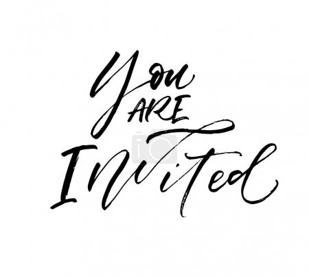 You are invited card.