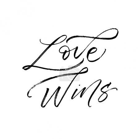 Love wins card.