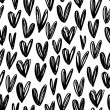 Seamless pattern with hearts. Ornament for Valenti...