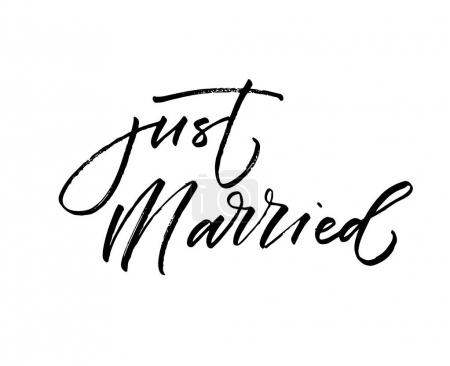 Just married card.