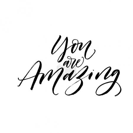 You are amazing card.