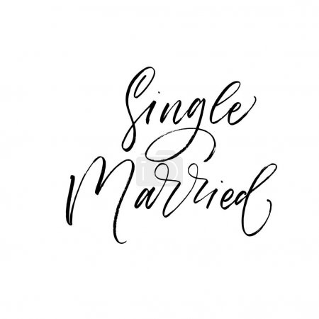 Single and married phrases.