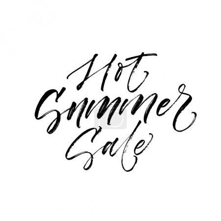 Hot summer sale card.