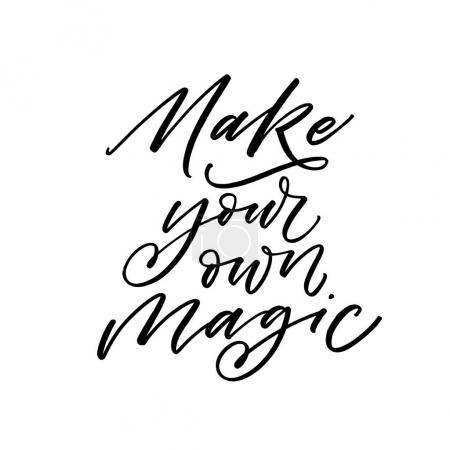 Make your own magic card.