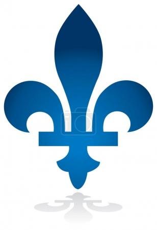 Quebec province of Canada emblem