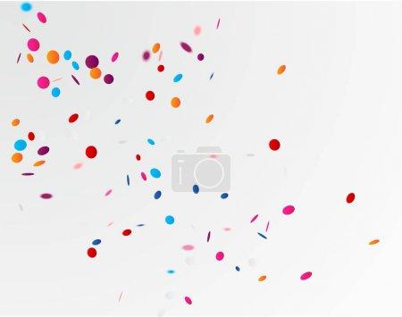 Colorful celebration background, vector illustrati...