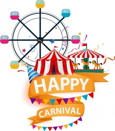 carnival colorful background