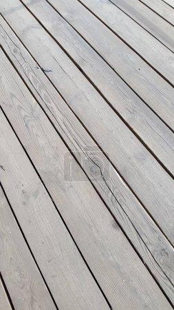 Foto de Old wood texture with natural patterns. Vintage wood background - Imagen libre de derechos