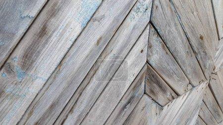 Foto de Textura de madera antigua con patrones naturales. Historia de la madera antigua - Imagen libre de derechos