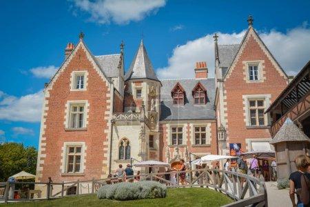 the Chateau du Clos Luce