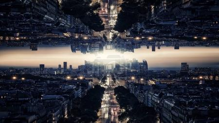 Photo for Parallel universe In Paris digital art - Royalty Free Image