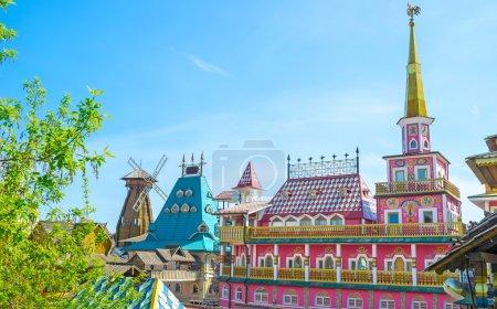 The fairy tale complex in Izmailovo