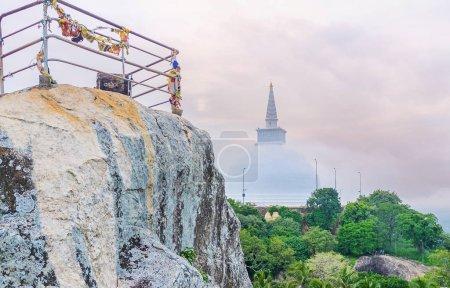 The climb on Aradhana Gala Rock