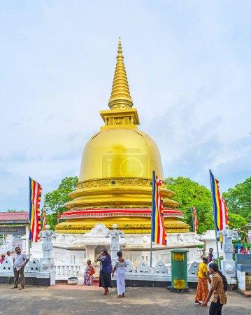 The Golden Stupa in Dambulla