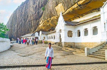 The Buddhist Monastery in Dambulla