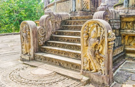 L'art du Royaume de Polonnaruwa