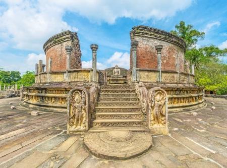 Le sanctuaire bouddhiste de Polonnaruwa