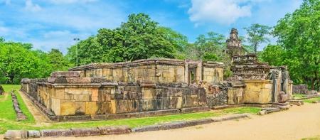 Panorama de la Hetadage à Polonnaruwa