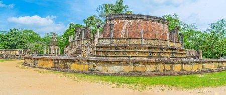 Site de Dalada Maluwa à Polonnaruwa
