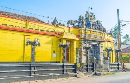 Dravidian architecture in Negombo