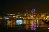 Beautiful cityscape of Baku