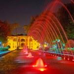 Постер, плакат: The colored fountains in Isfahan Iran