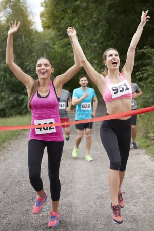 people during the marathon