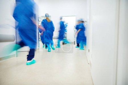 Alarm in operating room