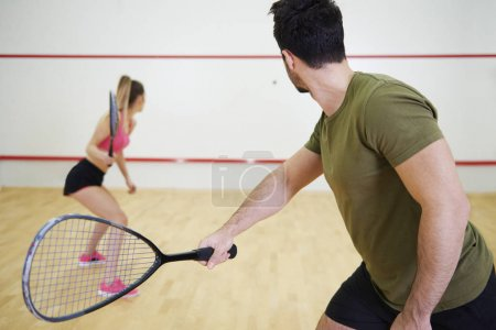 Squash is a great game to play with friend