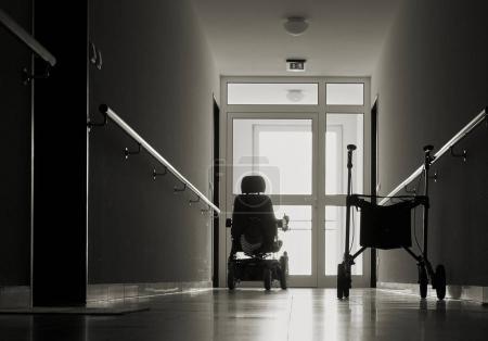 corridor in a nursing home