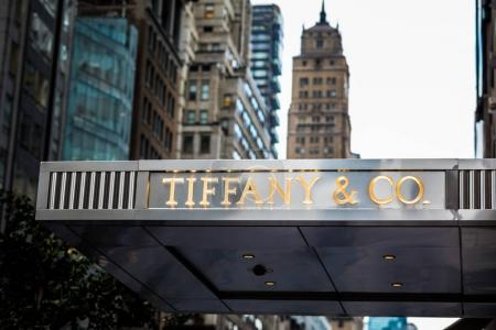 Tyffany and Co. store front in New York