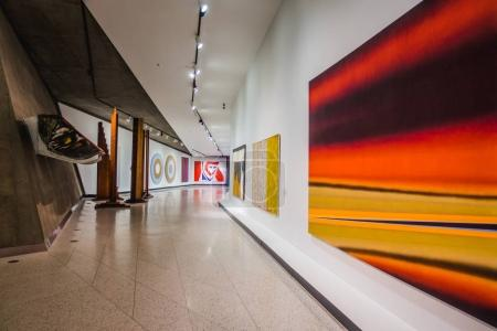 Montreal, Canada - November 28, 2017: Montreal Museum of Fine Arts. Section in the Quebec and Canadian