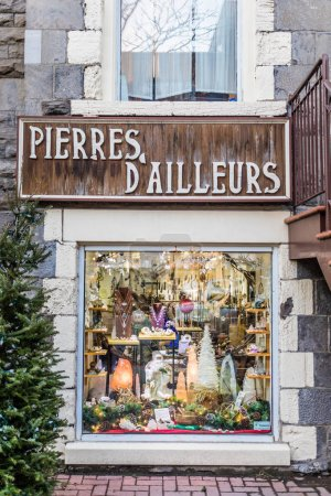 Display Window and Facade of Pierre d'Ailleurs