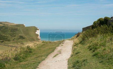 Beachy Head near Eastbourne, Sussex, England