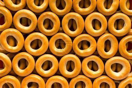 pretzel or bagels for background