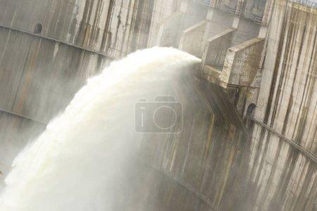 dam discharge water