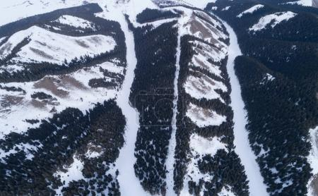 Aerial view of the Alpine