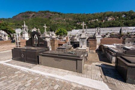 St. John the Baptist cemetery in Rio de Janeiro city
