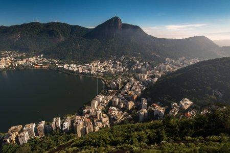 View of Rodrigo de Freitas Lagoon