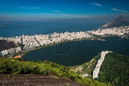 Rio de Janeiro City View With Hills