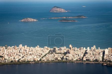 Ipanema and Lagoa Districts in Rio de Janeiro