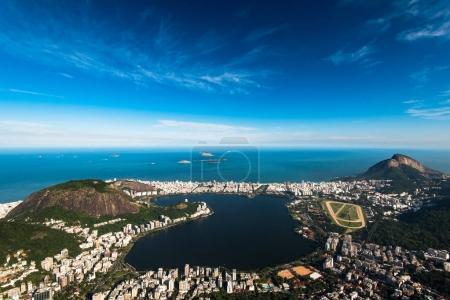 Rodrigo de Freitas Lagoon in Rio de Janeiro