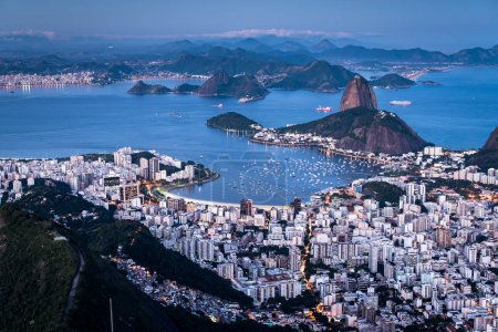 Famous View of the Sugarloaf Mountain