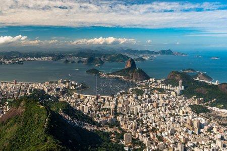 View of Rio de Janeiro City