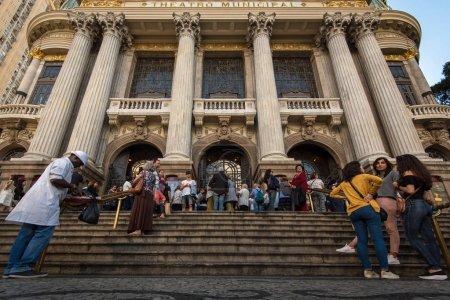 Municipal Theater. Rio de Janeiro, Brazil