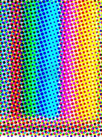 abstract bright color halftone background
