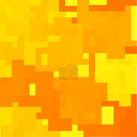 yellow and orange vector squares background