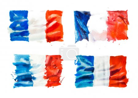 Four flags of France